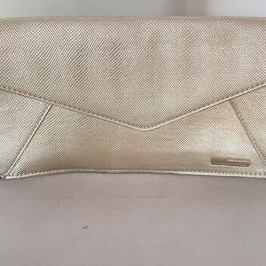 Victoria secret golden clutch
